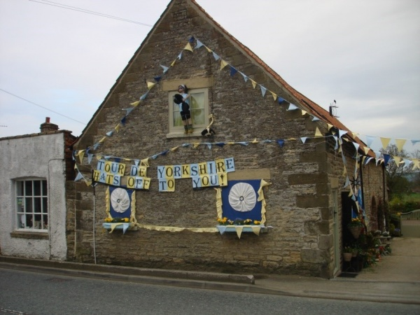 Tour de Yorkshire decorated house competition overall winner 2019